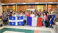 Exchanging French Culture Photo