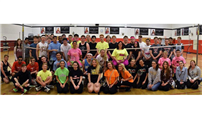 Business Honor Society Badminton Tournament Photo