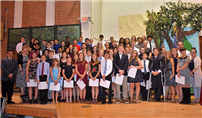 RMS Celebrates National Junior High School Inductees photo