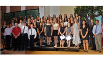Welcoming Students to the RMS Tri-M Music Honor Society photo