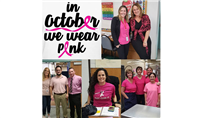 Cherokee Elementary School Wears Pink for Breast Cancer Awareness photo