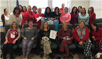 Wearing Pajamas for A Good Cause photo