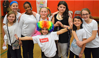 Sycamore Students Host Circus Performance photo
