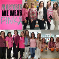 Cherokee Elementary School Wears Pink for Breast Cancer Awareness photo 2