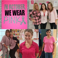 Cherokee Elementary School Wears Pink for Breast Cancer Awareness photo 3