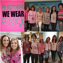 Cherokee Elementary School Wears Pink for Breast Cancer Awareness photo 4